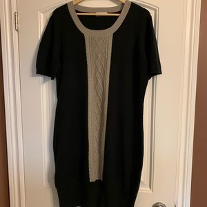 Rickis Cable Front Sweater Dress